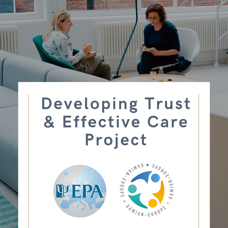 "EPA GAMIAN Europe ""Developing trust and effective care"