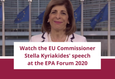 EU Commissioner Stella Kyriakides' speech at the EPA Forum 2020